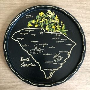 Vintage South Carolina tray